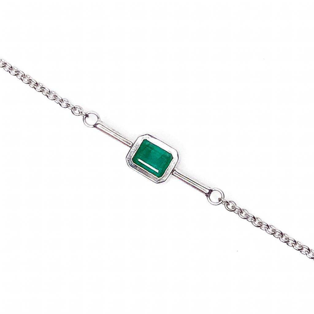 Julio Villarroel Emerald Bracelet